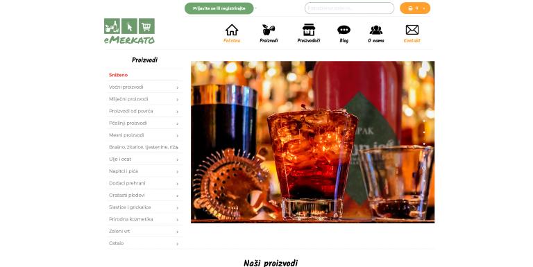 eMerkato web shop