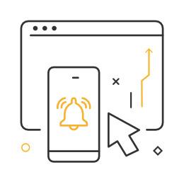message testing icon